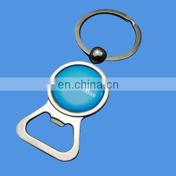 custom zinc alloy bicycle keyring