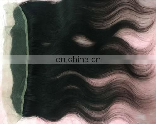 "Alibaba 14"" 13*2 Straight,Body Wave,Deep Wave Natural Colour Brazilian Remy Human Hair Frontal Lace Closure"