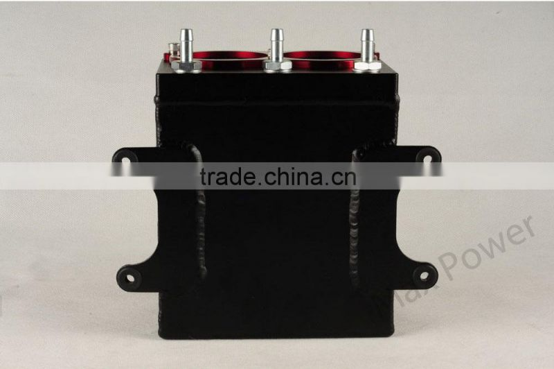 Universal 2.5L/1.5L Aluminium Oil Catch Tank/Fuel Cell/Fuel Tank/Fuel Can with Fuel Pump