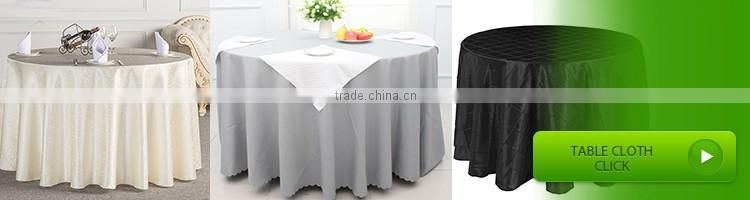 4ft OEM strench factory Rectangular Table cloth, banquet rectangular spandex table cover