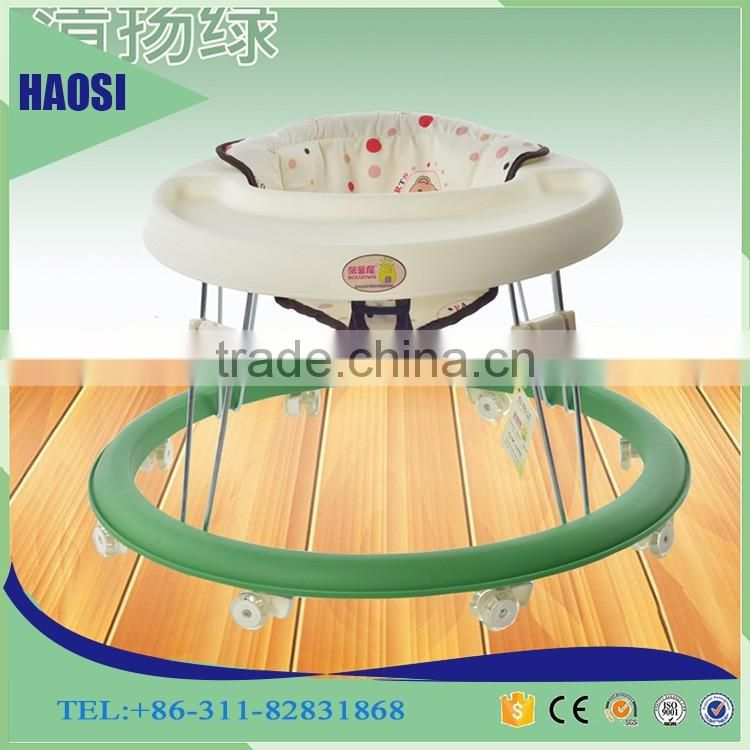 Classical simple round baby walker