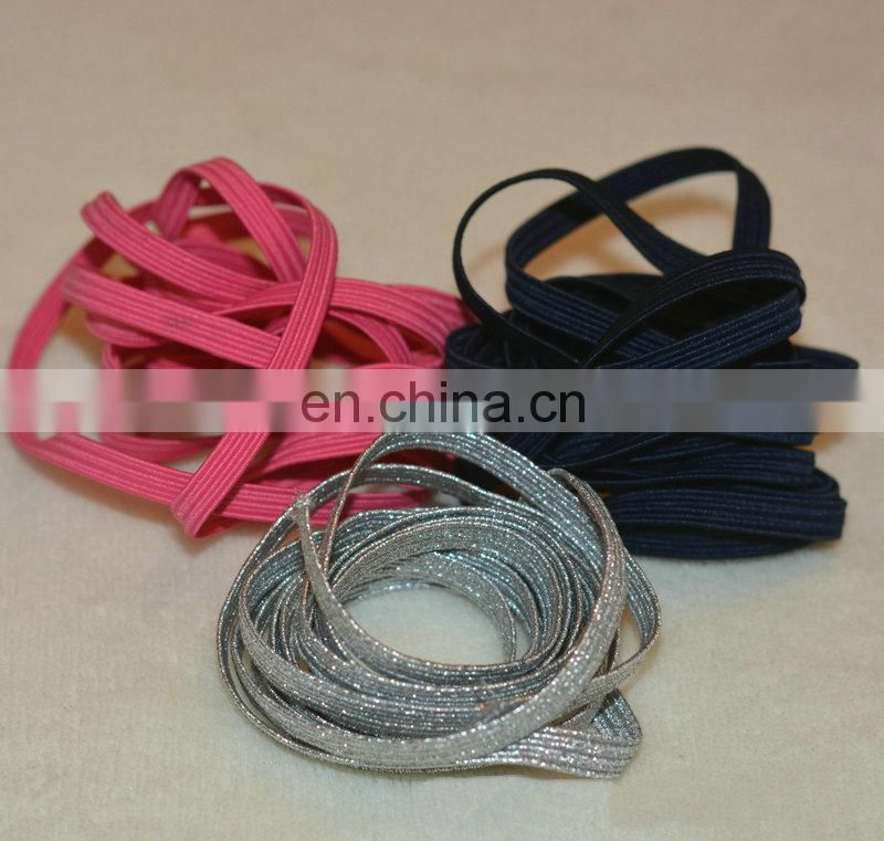 Customized latest elastic shoelace