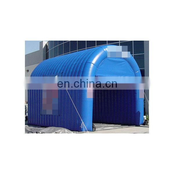 2018 new inflatable entrance tunnel tent with printed logo