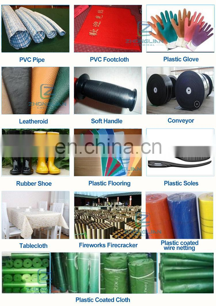 Plastic Raw Materials K57 K66 K68 PVC resin SG3