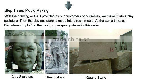 New Design Stone Fireworks Made of Pure White Marble Stone for Carving