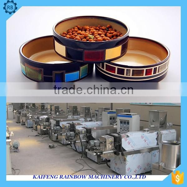 Factory Directly Supply Lowest Price Dog Food Make Machine ry High Capacity Pet Treats Processing Line