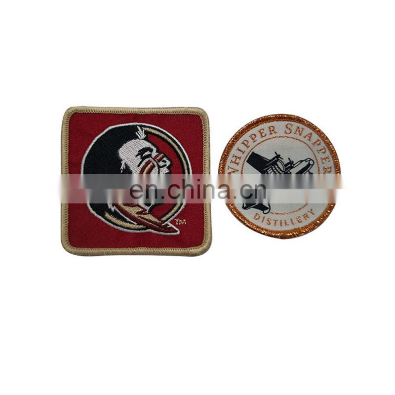China factory good quality custom fashion embroidery badge