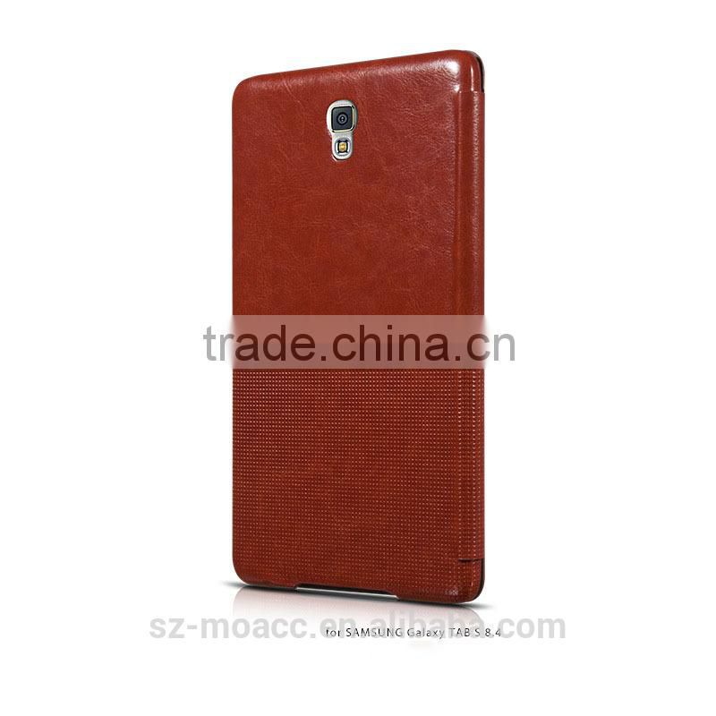 Retro style stand leather case cover for Samsung Galaxy Tab S 8.4