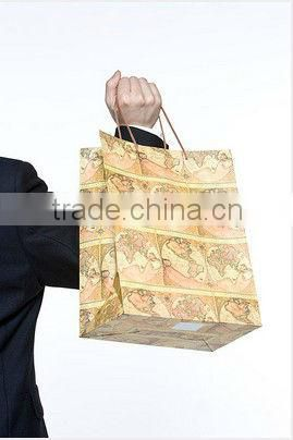 Art paper Shopping center bag