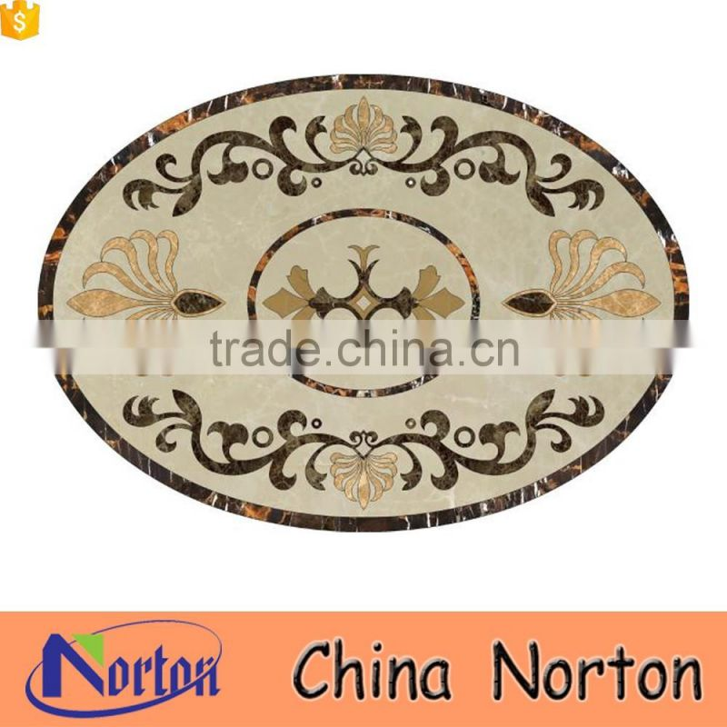 Hotel/home lobby decorative marble mosaic medallion NTMS-MM006A