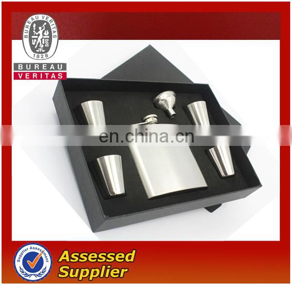5pcs Hip Flask set