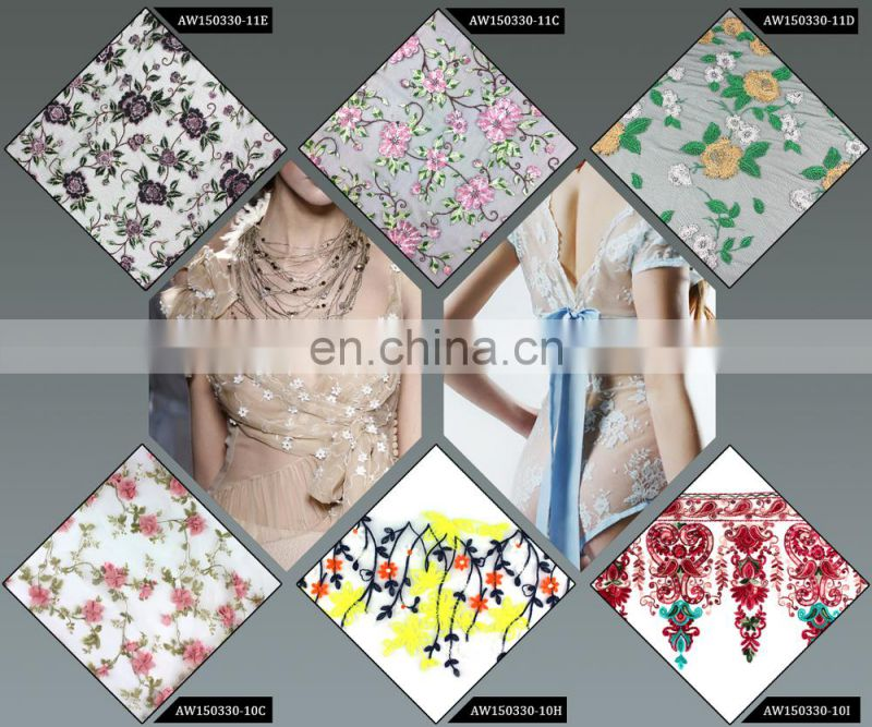 Fashion embroidery lace;design embroidery lace;pattern embroidery lace