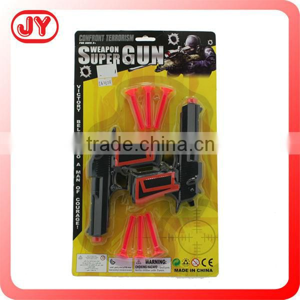 Plastic soft bullet needle gun for kids toys