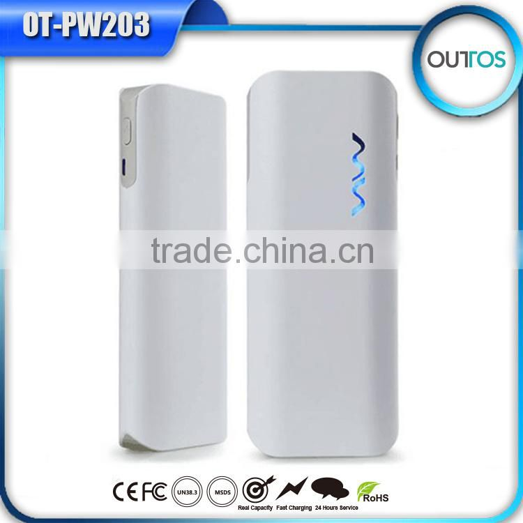 Super capacitor power bank 11000mah, dual USB mobile power supply