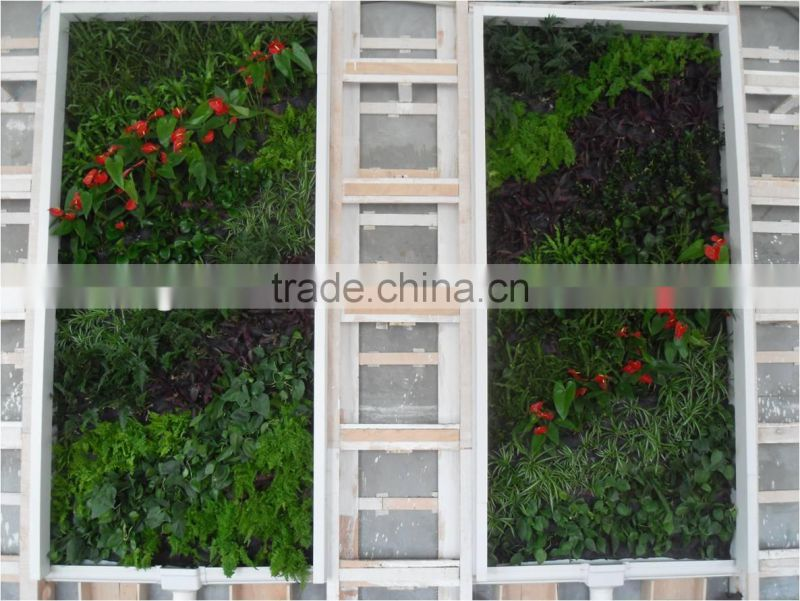 hotel lobby decoration foliage wall decoration wall hanging decoration