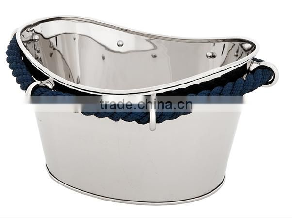 silver plated beer bottle bucket