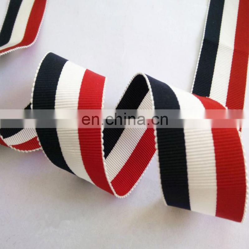 hot sale 1'' striped polyester tape