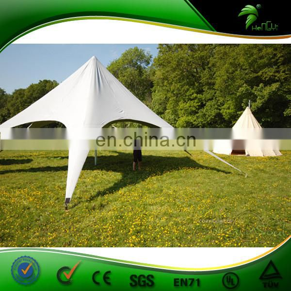 Most Popular Star shade tent for event with OEM printing,cheap factory price star tent