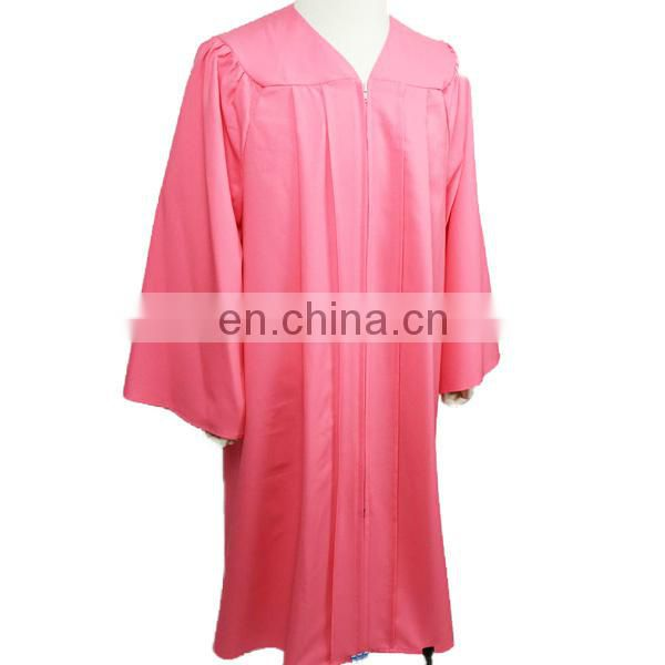 Pink Economic Gown/ Graduation Cap Gown of New Products from China ...