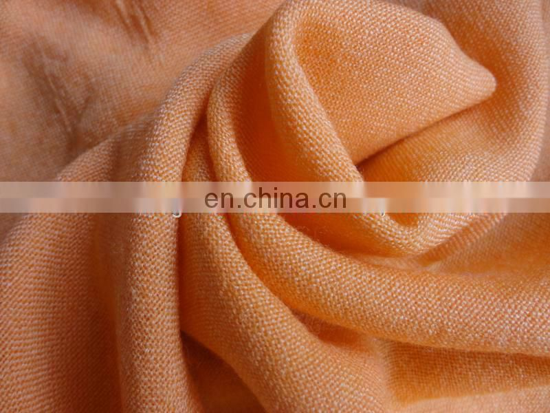 Herringbone 60S/2 100% merino wool scarf fabric