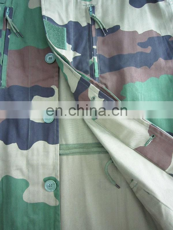T/C camoflage F1 military uniform