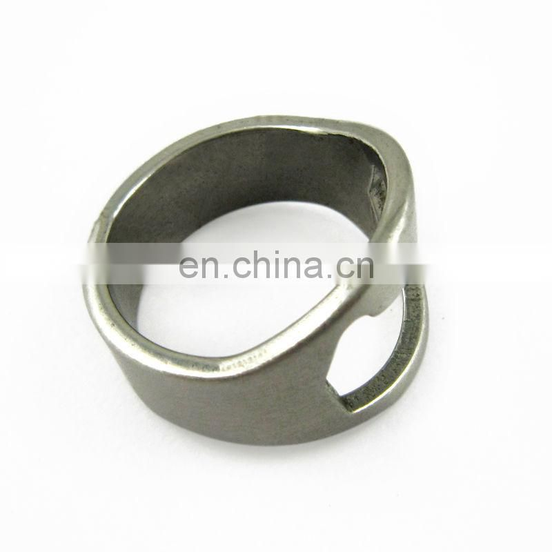 Promotion metal finger ring bottle opener