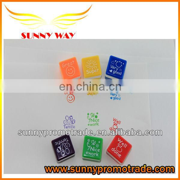 hot selling mini rubber stamp sets