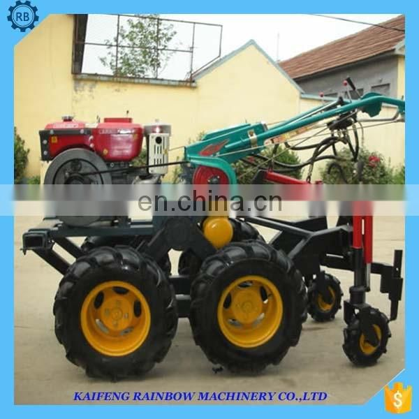 Mini combined ginger harvester