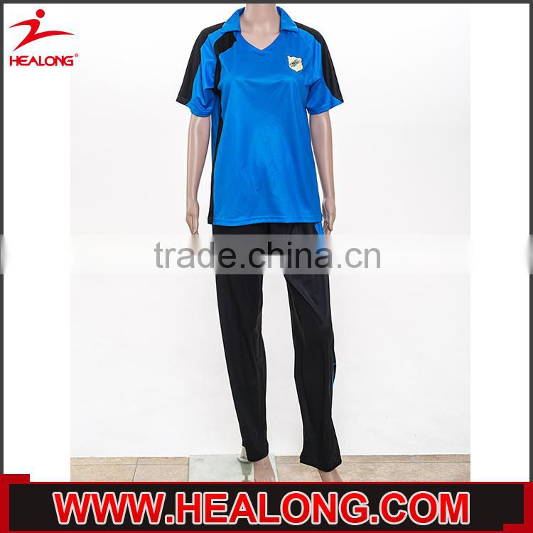Women Best Cheap Custom Cricket Team Sport Jersey Clothing Design