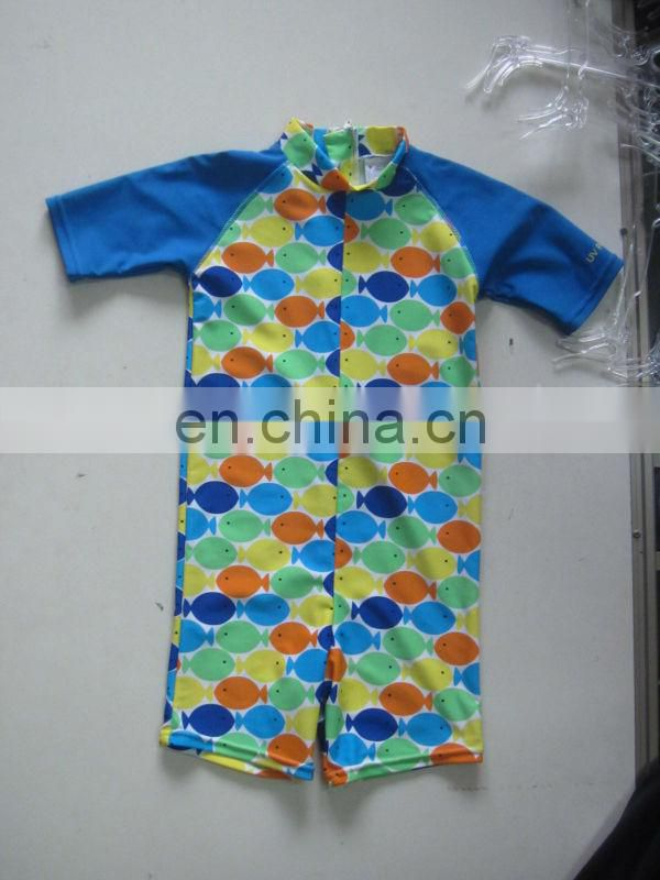 Children Swimming suit One Piece infant swimwear Trade assurance supplier (YD7272)