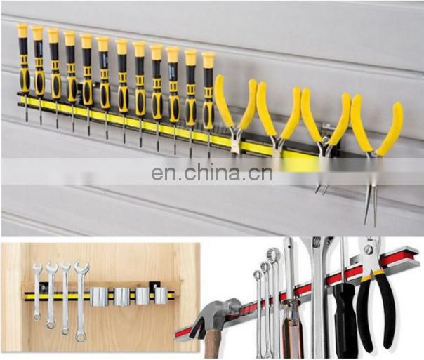 Kitchen Knife Holder Tool Wall Mount Knife Rack Utensil Parts Magnetic Material