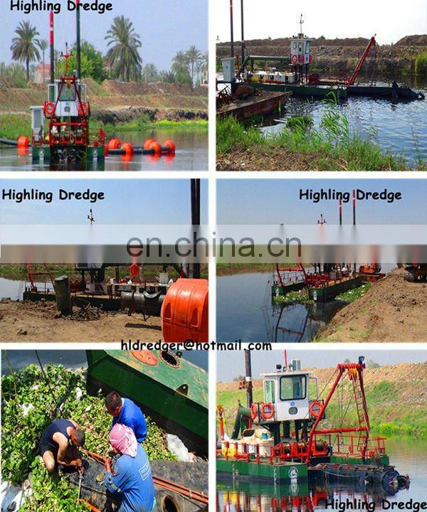 8 Inch Small River Sand Suction Dredger