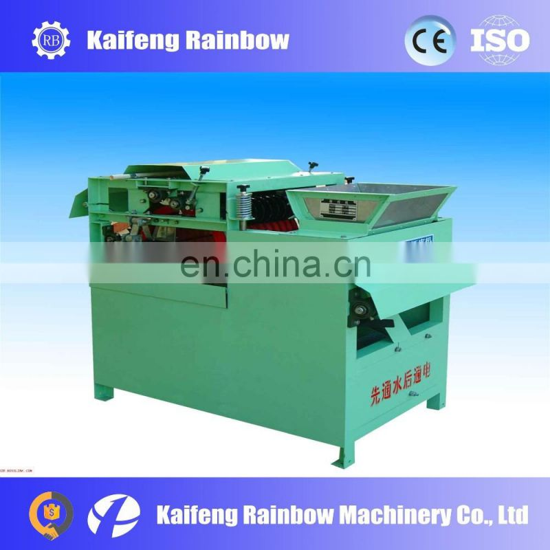 Multispindle electric peanut peal remove machine for industry