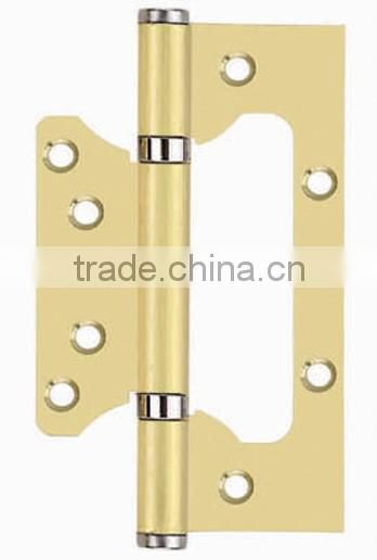 Stainless steel SUS 304/201 butterfly shape ball bearing door hinges for entrance locks rotating gate hinges