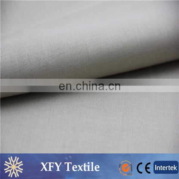 XFY intertexture dyeing 55% linen 45% cotton fabric