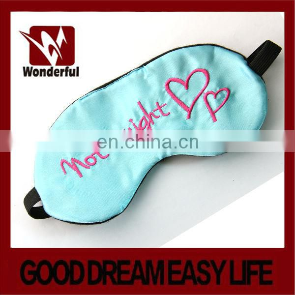 satin travel eye mask