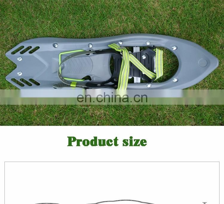 Arrow Series Snowshoes ski snowshoe with Tempered steel toe crampon