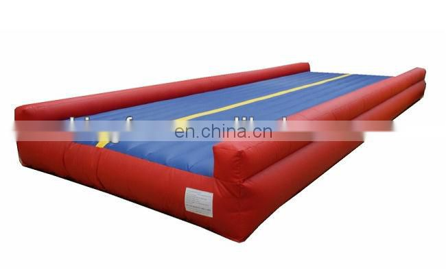 high-quality inflatable tumble track for professional gym