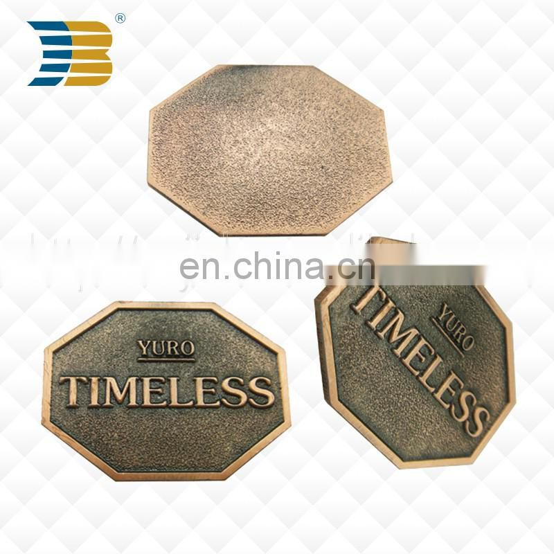 Good Selling Fashion Custom Antique Bronze Plating Alloy Metal Charm