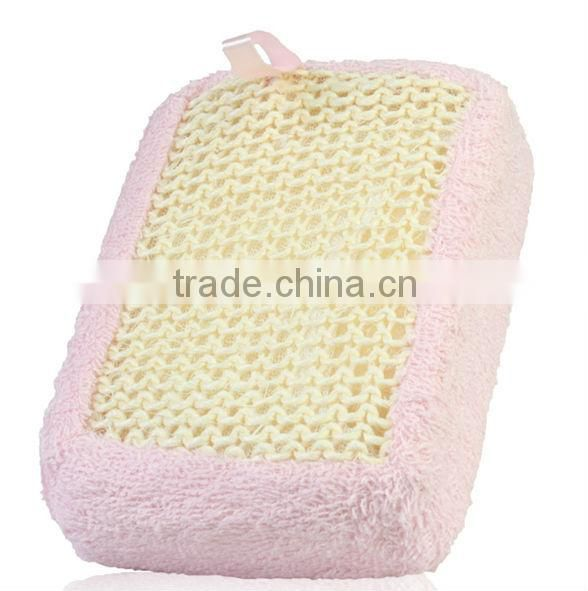 Popular Bath/Shower Wash Body Exfoliate Puff Sponge Mesh Net Ball soft bath flower soft bath sponge new