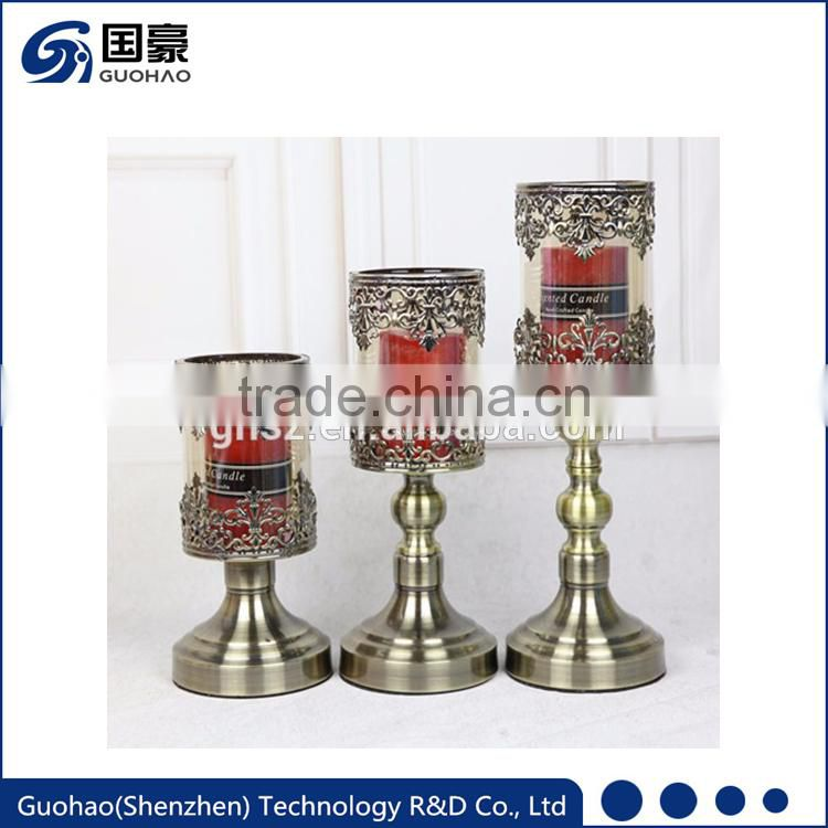 2017 new latest cheap wedding decoration floor standing candle holders