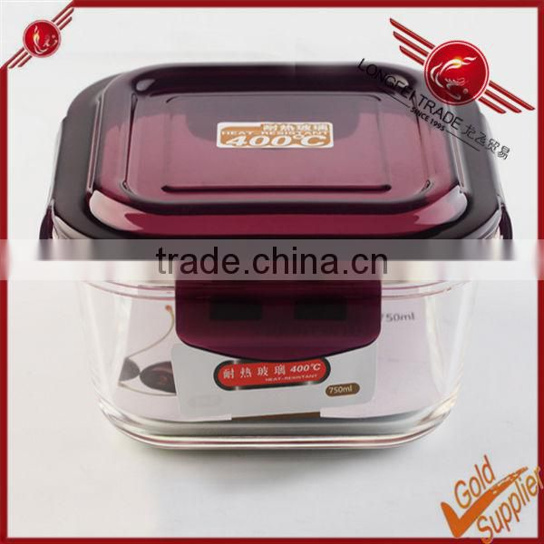 Transparent airtight food preserving box