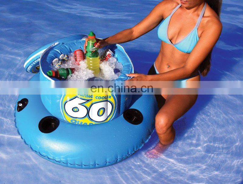 Inflatable Pool Beer Floating Cooler