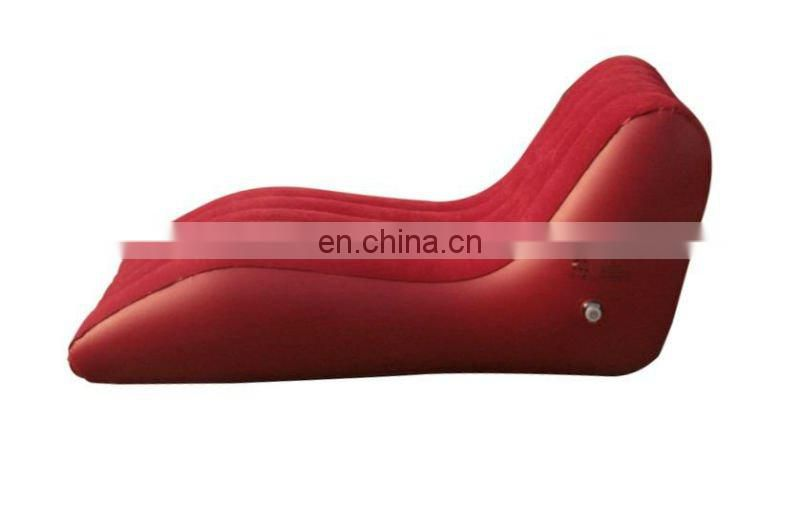 inflatable lounger/ PVC inflatable air cushion