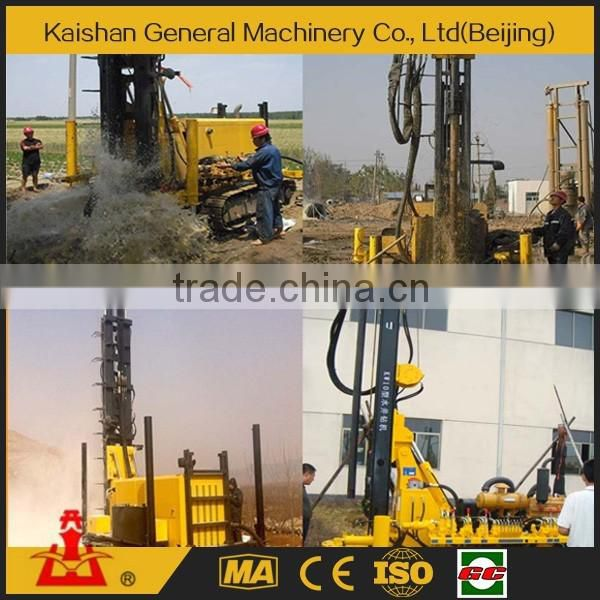 2016 New Designed Hot sale 100m water bore well drilling machine price Low KW10