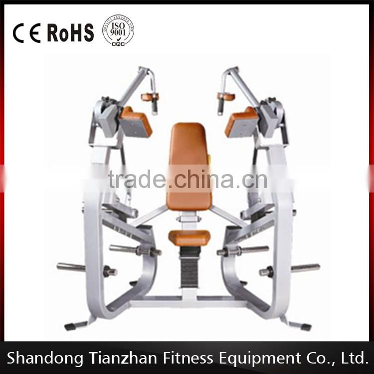Plate loaded fitness equipment/Hammer strength/Exercise body building equipment of Triceps Extension