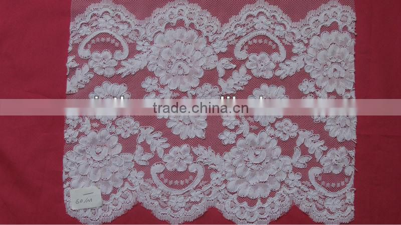 Beaded Jacquard trimming lace
