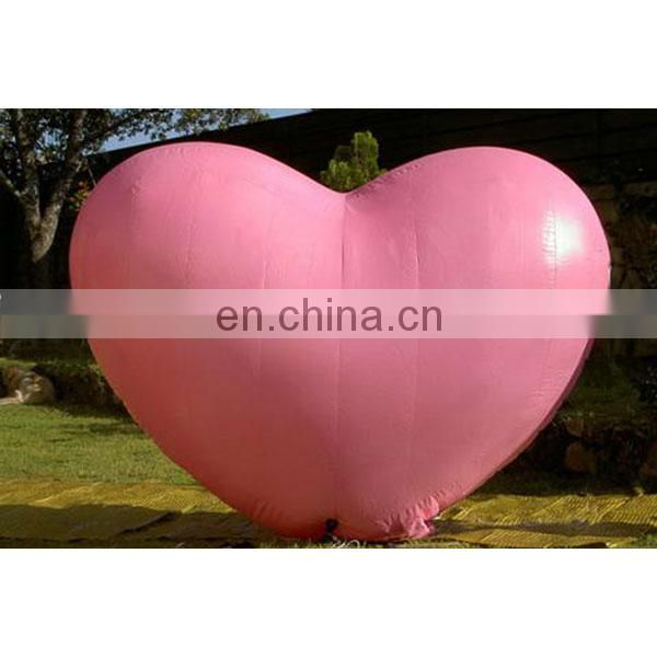 2018 decoration inflatable heart balloon for sale