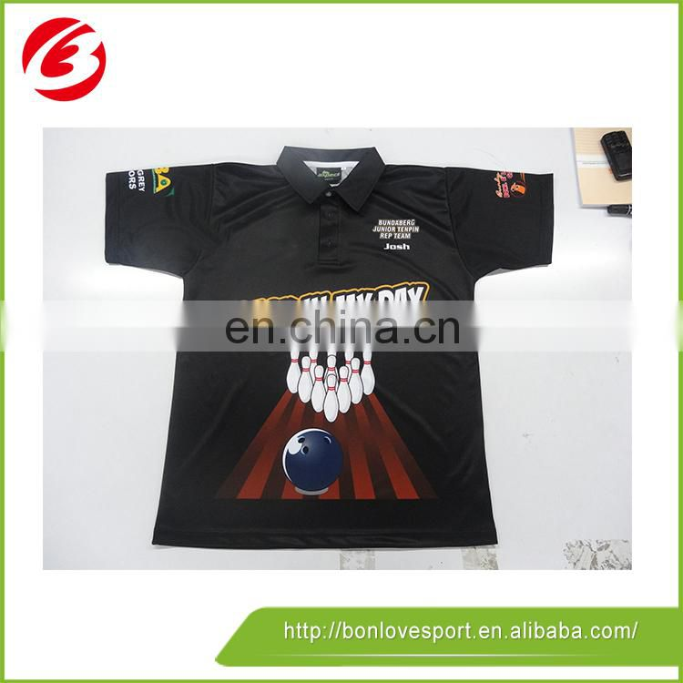 Digital Print With Pattern Golf Polo Shirts