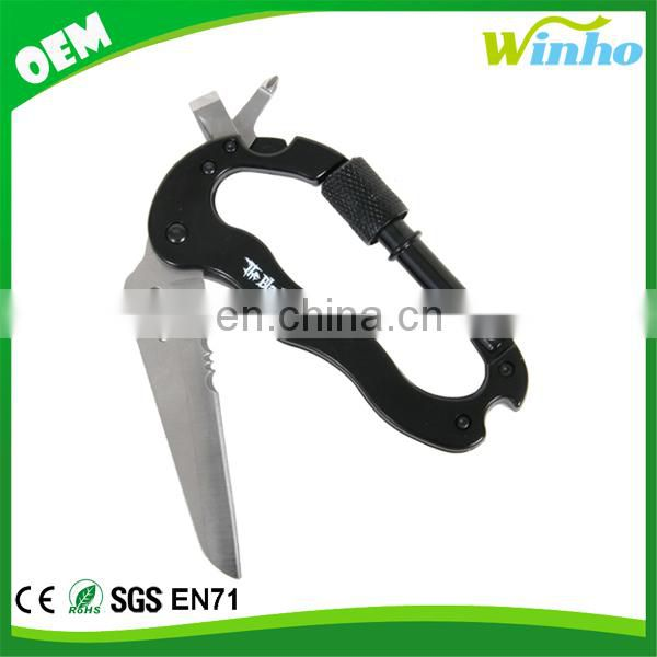 Winho Carabiner with Knife